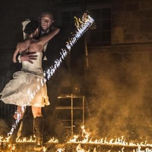 Pas de danse enflammé au Cabaret coquin © Photo : C.P./« La Meuse »/2018