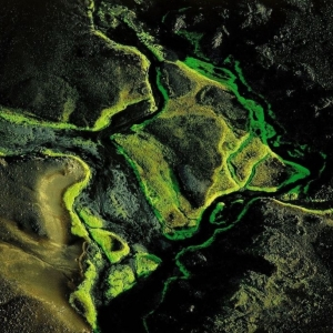 Rivière près de Maelifellssandur/région du Myrdalsjökull/Islande © Yann Arthus-Bertrand