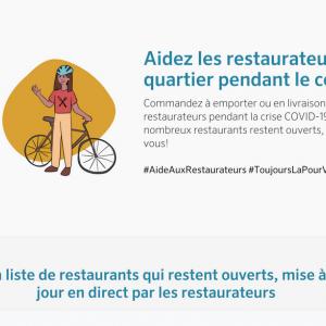 Aide-aux-restaurateurs.be offre un menu sans contact QR code à tous les restaurants