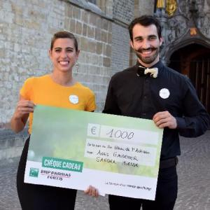 Anais Gaudemer et Sander Miesse. COUP DE COEUR DU JURY 2018