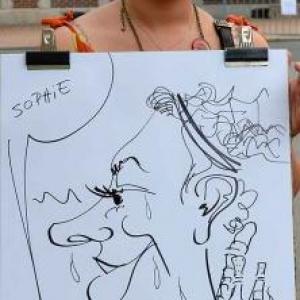 Caricature Charneux - 140