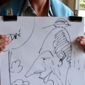 Caricature pour Electrabel-3329