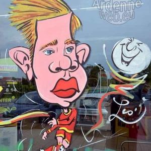 caricature Kevin De Bruyn