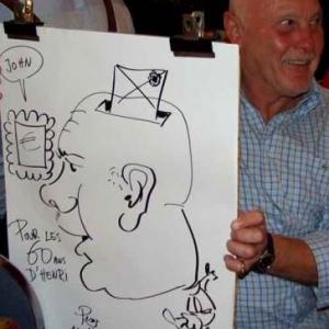 Caricatures pour les 60 ans de Henri ROEMER - photo 8617