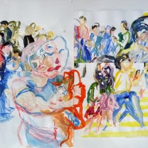 L'artiste YEUNG FUN YUEN (1960) belgo/chinois à la galerie ABC&Design du 19/08/2021 au 11/09/2021