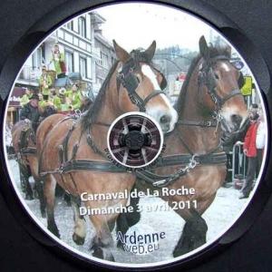 Intronisation du prince carnaval de La Roche-en-Ardenne