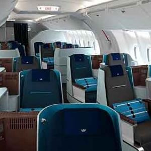 World Business Class de KLM