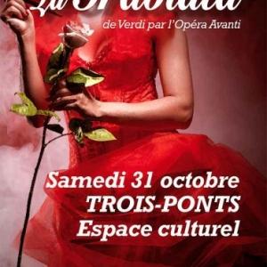 La Traviata de Guiseppe Verdi par l'Opera Avanti . Trois-Ponts