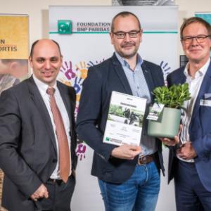 Asbl Centre Saint-Aubain  Awards de BNP Paribas Fortis Foundation