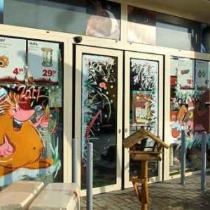 Beaufays - Peinture sur vitrine pour Noel-Liege-7399