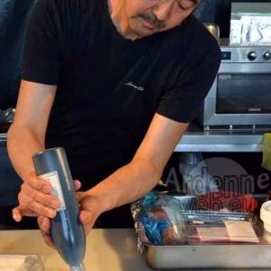 le Chef Nakahara (le Shinano, de Paris) -Epicuriales 2015-photo-5026