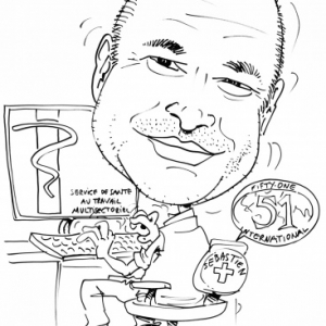 informatique,caricature, FIFTY-ONE, Luxembourg