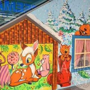 Maison de St Nicolas et pour Noel dans le centre commercial de Knauf Pommerloch- photo 4741
