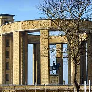 Nieuwpoort.6. monument roi albert ier