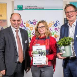 Asbl Fun-en-Bulle Awards de BNP Paribas Fortis Foundation