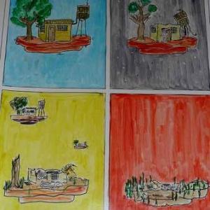 Exposition des œuvres de détenus de la prison de Saint-Hubert