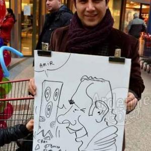 Auchan caricature pour le carnaval du Luxembourg-6895