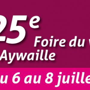 Foire du vin d'Aywaille 2018