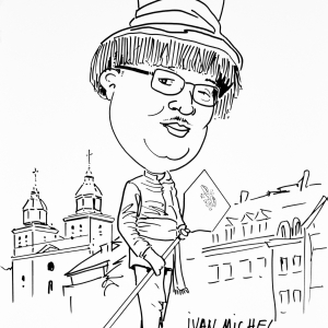 Caricature Ivan Michel carnaval de Malmedy