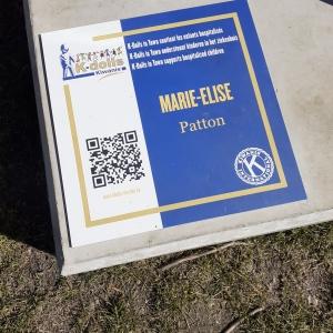 Kdoll de Marie-Elise pour le Kiwanis de Bastogne