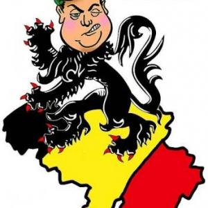 caricature de Bart De Wever par Jean-Marie Lesage