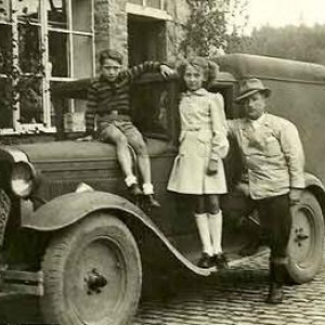 Louis Jacqmin et sa famille