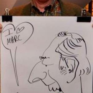 Caricaturiste pour les 60 ans de Marc - photo 1736