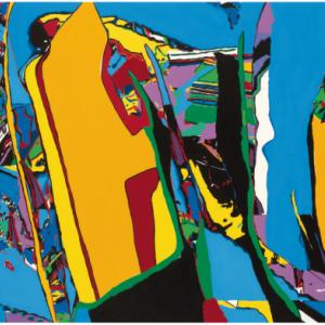 Luis Salazar - acrylique sur toile - 95x120cm - 2010