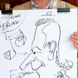 Caricature pour Electrabel-3346