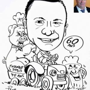caricature minute fermier