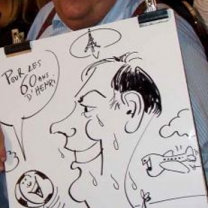 Caricatures pour les 60 ans de Henri ROEMER - photo 8618