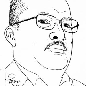 Yvan MICHEL ( caricature JMLesage)
