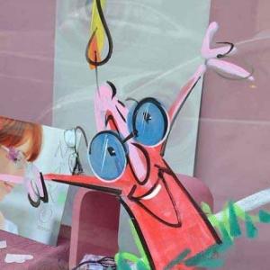 vitrine de NOEL de Jean-Marie Lesage -2014