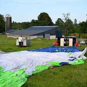 vol en ballon en Wallonie - photo 7637