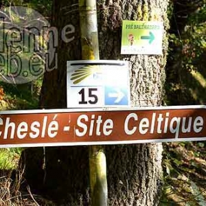 Chesle cite celtique