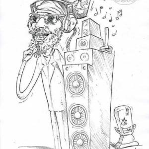 caricature de Fabrice BELLERY par Olivier Claudon
