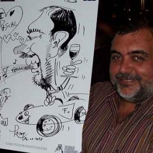 Caricature au Frenchie Restaurant de Luxembourg-7048