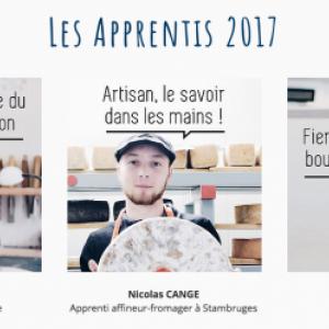 Les gagnants 2017 de la vitrine de l'artisan