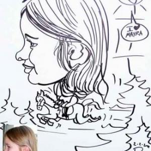 Mayra - MHZ caricature
