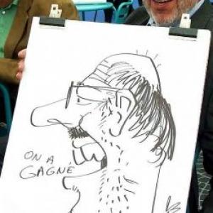 caricature MR - 8272