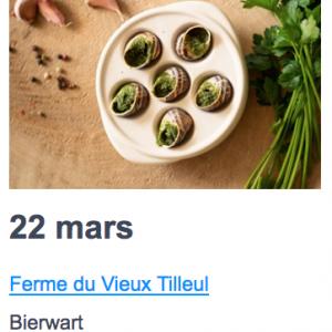 Eat local 22 mars