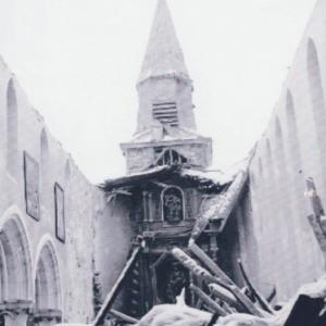 Houffalize 1944 1945  Eglise