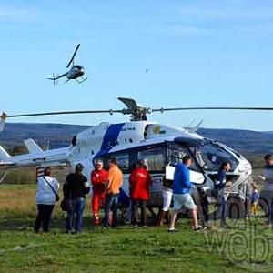 FETE de l'HELICOPTERE MEDICALISE de Bra sur Lienne