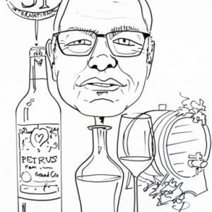 amateur de vin fin,caricature, FIFTY-ONE, Luxembourg