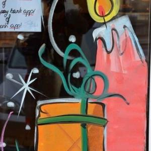 Peinture sur vitre