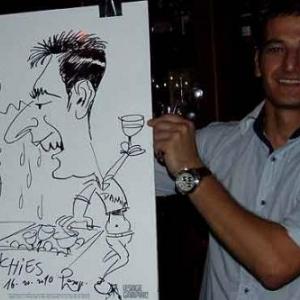 Caricature au Frenchie Restaurant de Luxembourg-7061