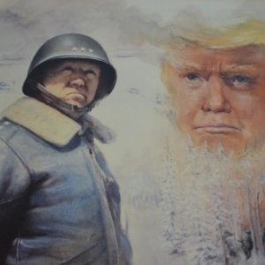 Patton , Trump Rembering. Printings by Marie-Elise.
