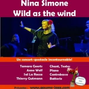 Gaume Jazz d'Automne. Nina Simone, Wild as the Wind