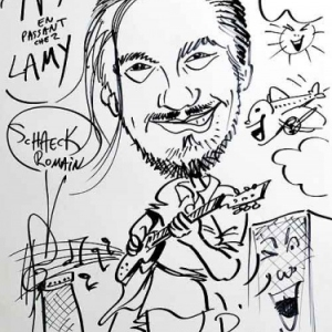 Caricature Schaeck Romain