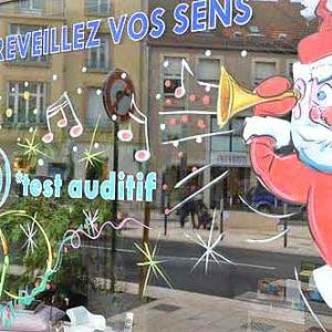vitrine de NOEL de Jean-Marie Lesage -2006
